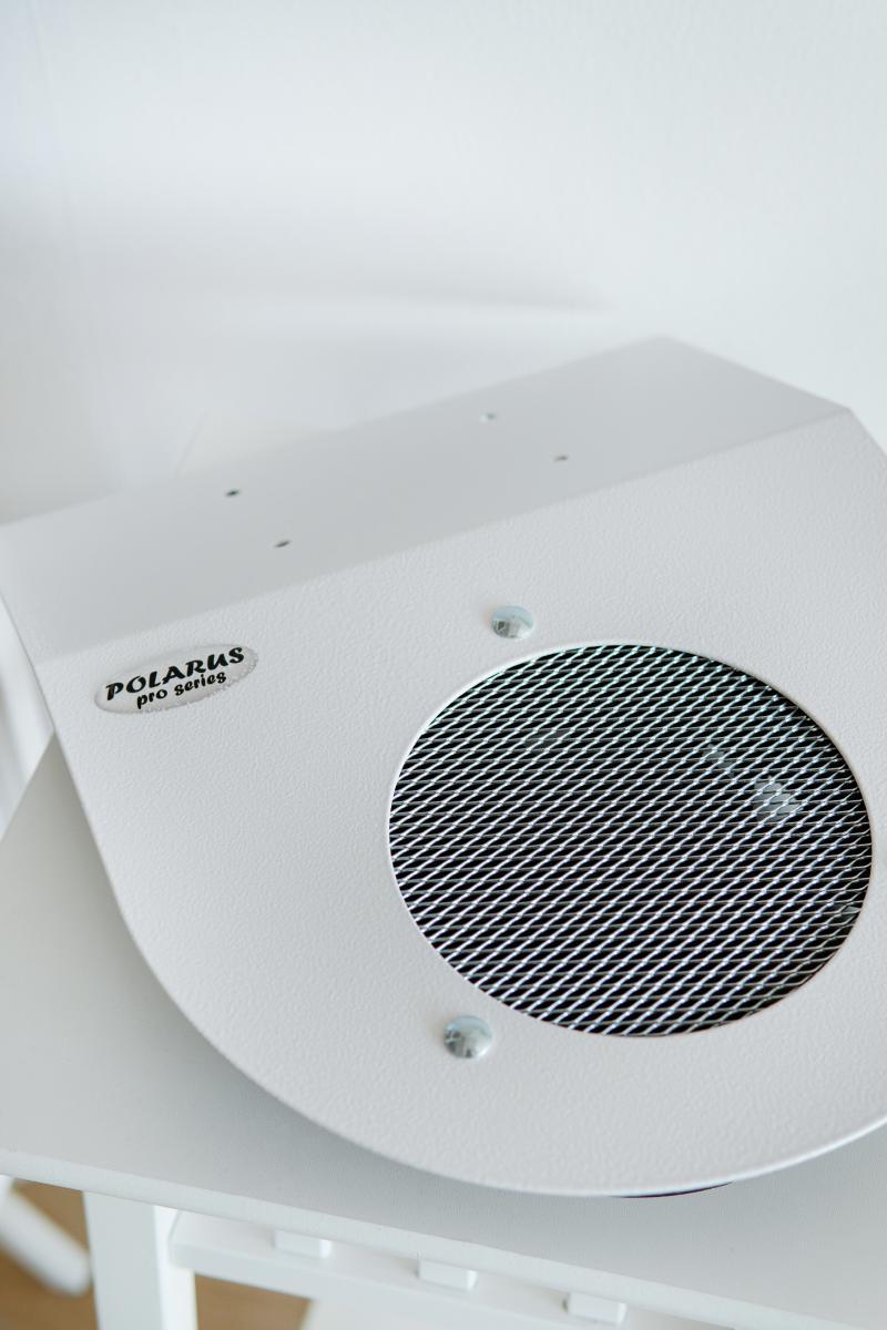 Пылесос педикюрный PD-PRO (white) белый POLARUS