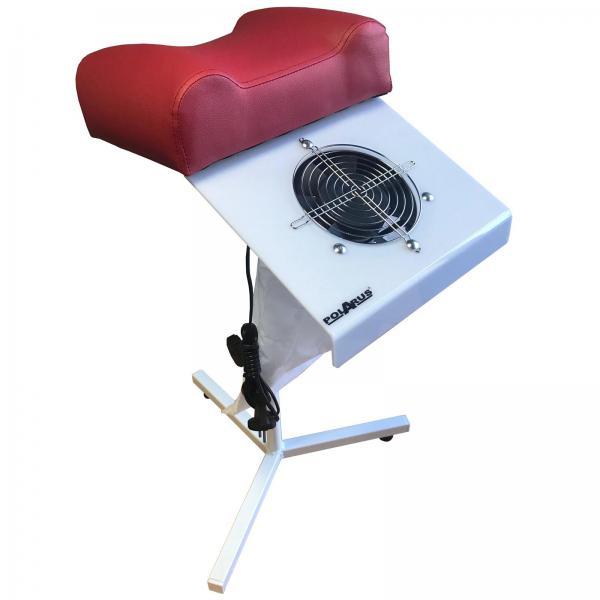 Педикюрный пылесос красный PD-65W