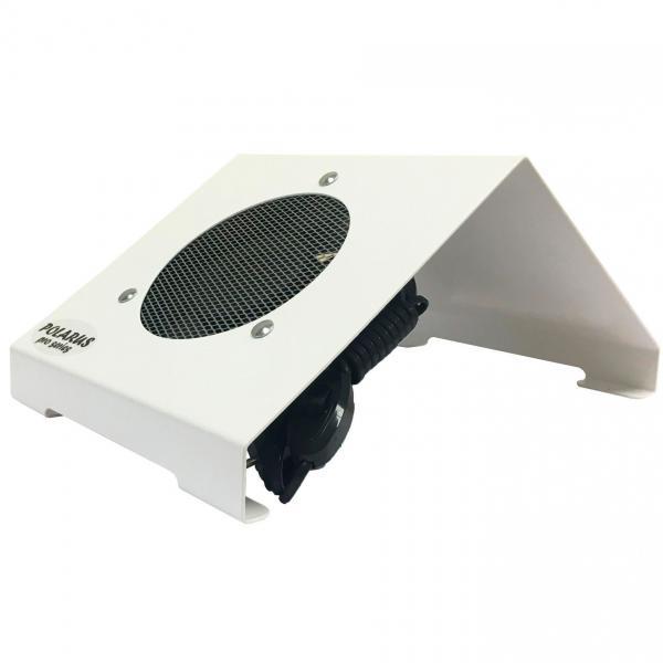 Пылесос для маникюра настольный Polarus PRO-series 80 Вт металл (белый)