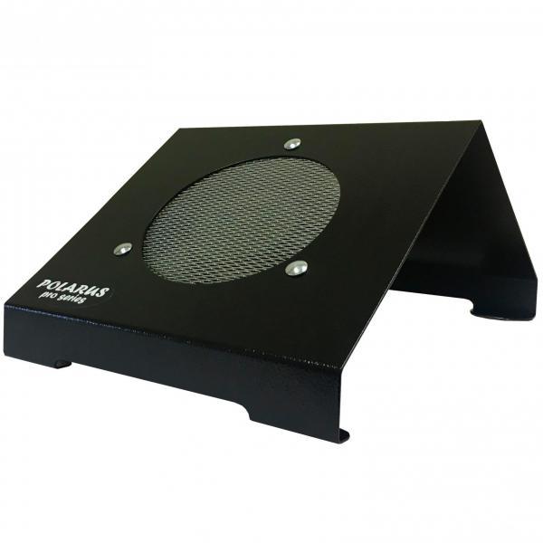 Пылесос для маникюра настольный Polarus PRO-series 80 Вт металл (черный)